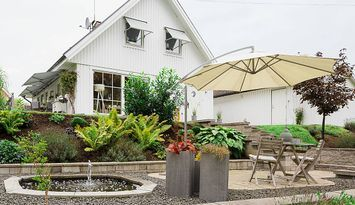 Lækkert hus i skønne omgivelser