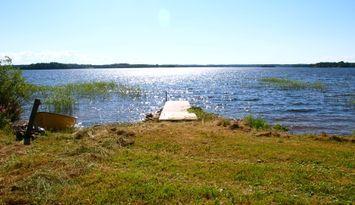 Summer paradise by lake Skagern