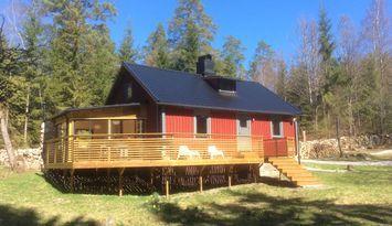 Rent a cottage in Småland, Tingsryd, Sauna Hot Tub
