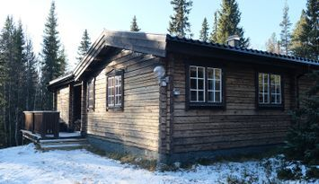 Cozy cabin, 20 meters from the cross-country track