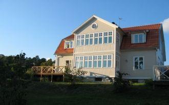 Hus vid sjön Mälaren, 12 bäddar, Sigtuna,Stockholm