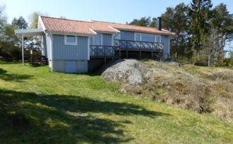 Bohuslän, Strandnähe in Fiskebäckskil