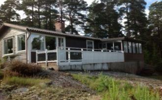 Fritidshus i idylliska Gårvik