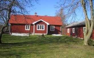 Mysigt hus på Öland med stor tomt