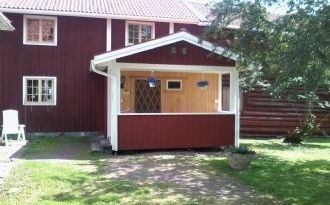 Dränggården Rättvik,  kringbyggd genuin dalagård.
