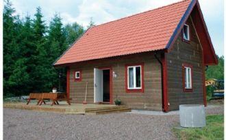 Våxtorps camping och stugby - loftstuga 6-10 pers