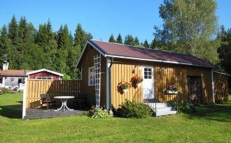 Kleines Ferienhaus mit Außenplatz