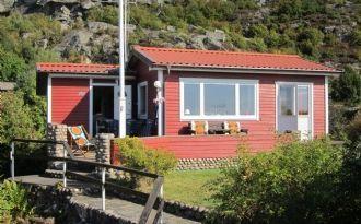 Stuga i Bohuslän med underbar havsutsikt