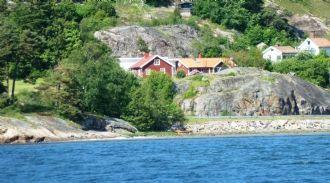 Härligt strandnära hus i hjärtat av Bohuslän.