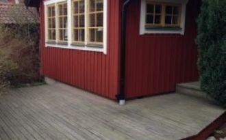 Litet hus på Utö med WC, dusch, fullt utrustat kök