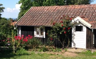 Cottage from 18th century in Vickleby, Öland