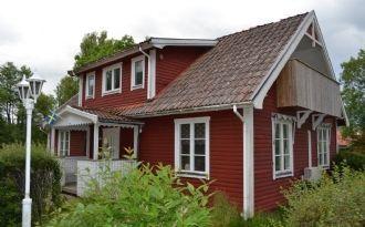 Lantligt hus i Slättåkra utanför Halmstad