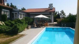 Villa Herrvik swimmingpool, Stockholms Skärgård