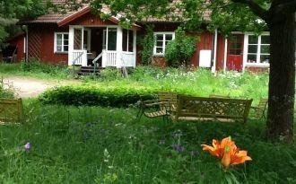 140 m2 stuga i naturskön trakt, många sjöar+WiFi