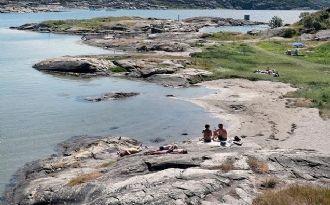 Lägenhet på Gullholmen-Hermanö med havsutsikt