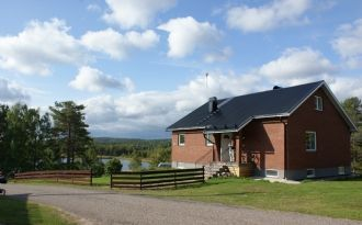 House with fantastic lakeside view, Malung / Sälen