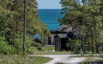 Hus med havsutsikt uthyres på Fårö, Gotland