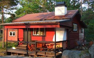 Stuga på Ingmarsö en levande skärgårdsö