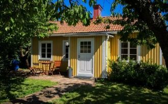 Gårdshuset Vinscha Five i Västervik