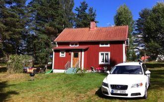 Strandnära hus i Lysvik