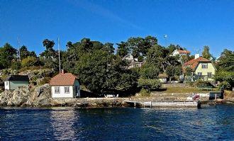 OCEAN FRONT DALARÖ private dock, sauna and beach