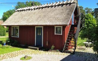 Stuga med vasstak nära Åhus & Yngsjö