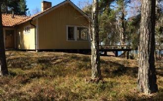Bystaviken, Östra Lagnö,  långt ut på Ljusterö