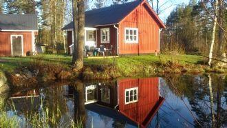 Gårdshus i Hälsingland