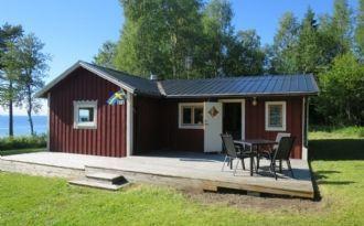 Cottage on the banks of Lake Storsjön