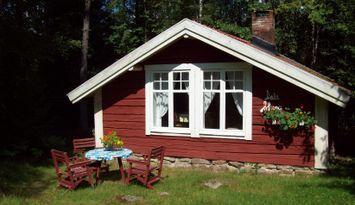 Kleine gemühtliche Hütte in Småland