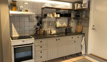 Nybyggd lägenhet 15min från Halmstad