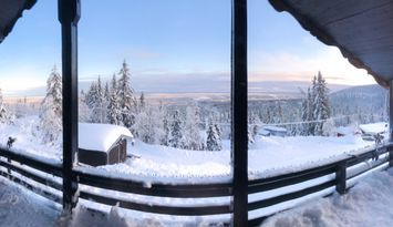 A Sälen top location with panoramic views.