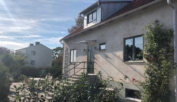 Visby, villa i lugnt område östra Visby 1km cent.