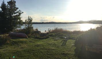 Egen udde i Siviksfjärden - En svensk sommaridyll