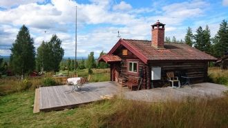 Cottage with beautiful view over Siljan lake