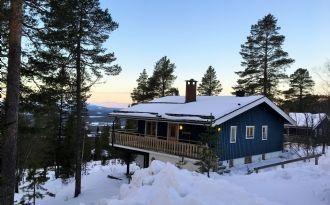 Ski in - ski out i Björnrike
