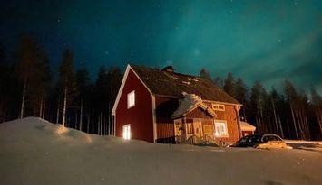 Villa Sjö precis vid sjön Posjärv