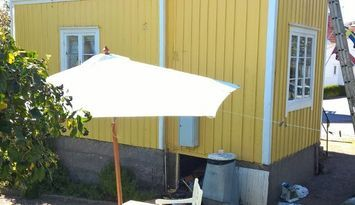 Ledig juni - Mysigt hus midt  i Hunnebostrand