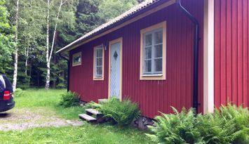 Cottage, Orust, Bohuslän, in forest, near the sea