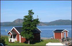 Stugor vid havet i Nordingrå, Höga Kusten