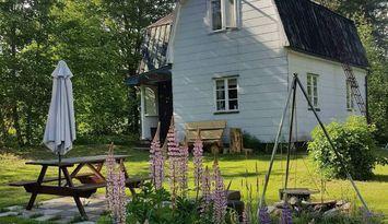Stuga vid skogskanten i Hamra, Orsa Finnmark