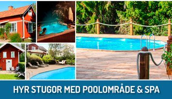Cottage with swimming pool 1 hour from Stockholm