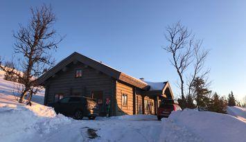 Drömstuga i Bydalen Ski-in-ski-out-läge