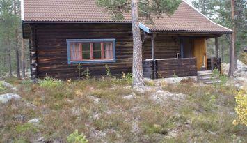 Log house in Gränjesåsvallen, Idre