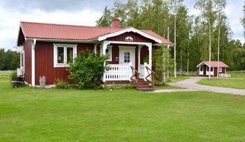 Kleine rote Hütte