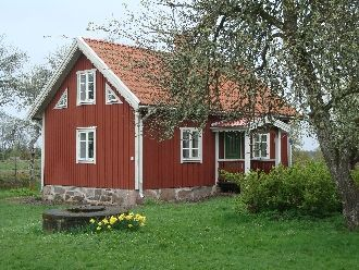 Rödan, privatly situated cottage, fishing & boat - 4 bedden in Mörlunda, Vimmerby - Kalmar län