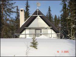 Fin stuga med utsikt över Lofsdalen