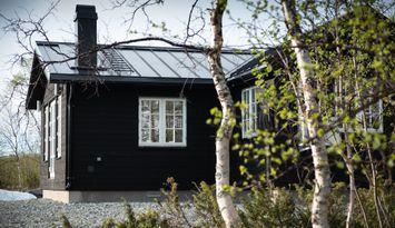 Nybyggd fjällstuga i Umfors/Hemavan