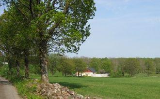 Gästlägenhet i gamla stallet på liten gård