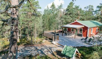 Private cabin in the archipelago of Stockholm